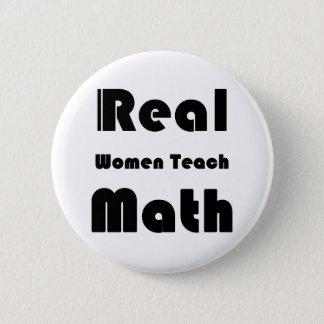 本当の女は数学を教えます 5.7CM 丸型バッジ