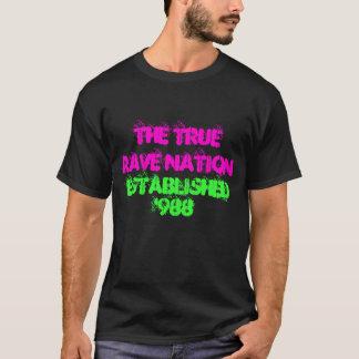 本当の激賞の国家 Tシャツ