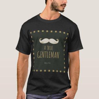 本当の紳士のワイシャツ Tシャツ