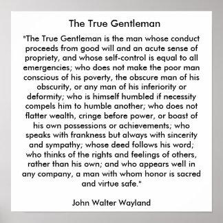 本当の紳士 ポスター