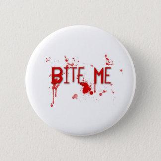 """本当の血は""""かみます私を"""" 5.7CM 丸型バッジ"""