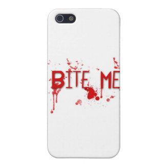 """本当の血は""""かみます私を"""" iPhone 5 カバー"""