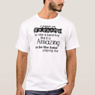 本当の行進のbandness tシャツ