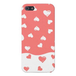本当愛珊瑚のハート iPhone SE/5/5sケース