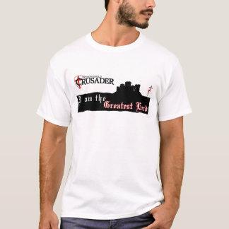 本拠地のクルセーダー-すばらしい主-白 Tシャツ