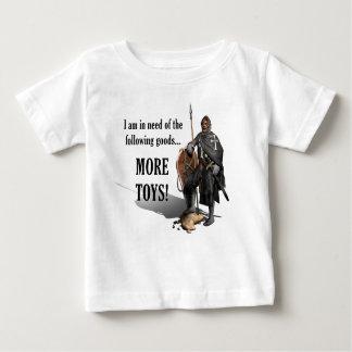 本拠地のクルセーダー-より多くのおもちゃ-ベビー ベビーTシャツ