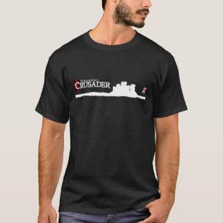 本拠地のクルセーダー-ロゴ-黒 Tシャツ