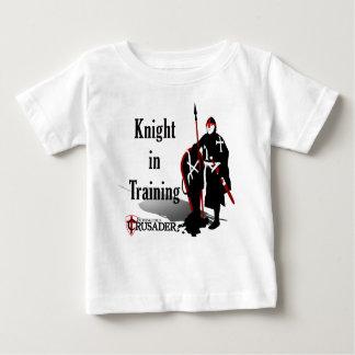 本拠地のクルセーダー-訓練の騎士-ベビー ベビーTシャツ