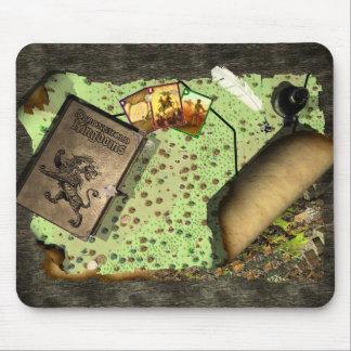 本拠地の王国のマウスのマット マウスパッド