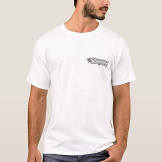 本拠地の王国-ロゴ-白 Tシャツ