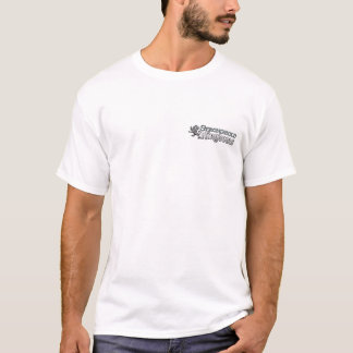 本拠地の王国-公式のテスト技術者-白 Tシャツ