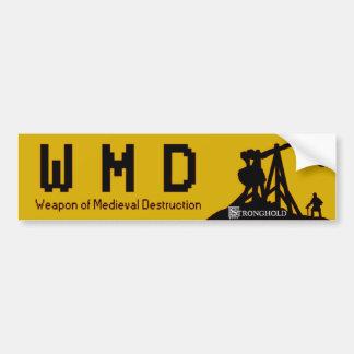 本拠地- WMD バンパーステッカー