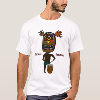 本格的なドラマー Tシャツ