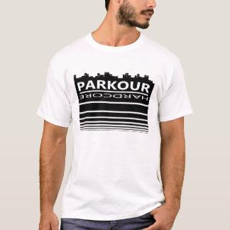 本格的なParkour Tシャツ