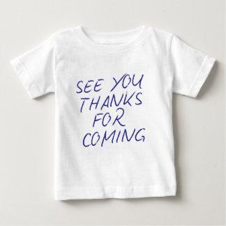 """""""本物会って下さい来ることへの感謝"""" ベビーTシャツ"""