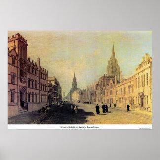 本町通り、ヨセフターナーによるオックスフォードを見て下さい ポスター