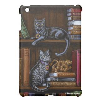 本看守の図書館猫のiPadの例 iPad Mini Case