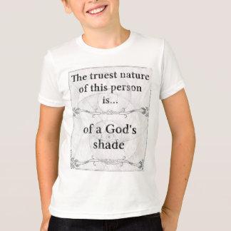 本質: 陰の神の主 Tシャツ