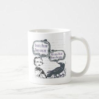 本Poeの男の子 コーヒーマグカップ