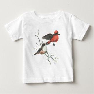 朱色flycatcher ベビーTシャツ