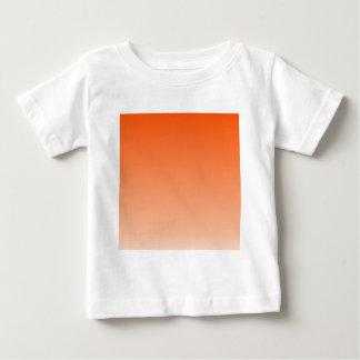 杏子の横の勾配へのTangelo ベビーTシャツ