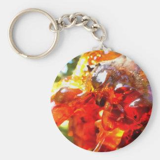 杏子の樹脂の抽象芸術 キーホルダー