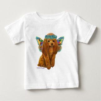 杏子の赤いプードルの妖精 ベビーTシャツ