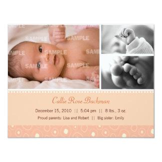 杏子のGumdropのベビーの誕生 カード