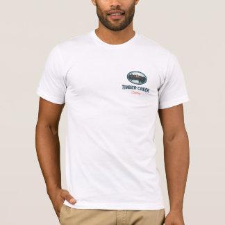 材木の入り江の蒸留酒製造所のウォッカのワイシャツ Tシャツ