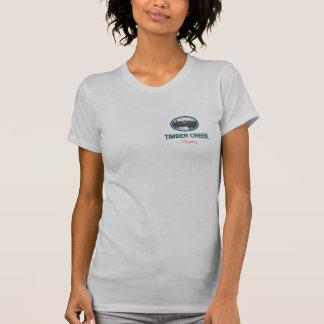 材木の入り江の蒸留酒製造所の女性のウォッカのワイシャツ Tシャツ