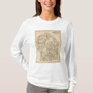 材木は5地図を上陸させます Tシャツ