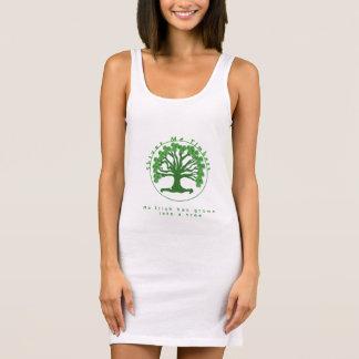 材木私は震えます 袖なしドレス
