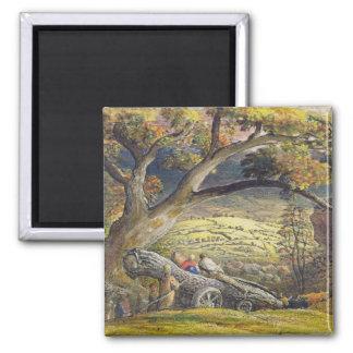 材木Wain、c.1833-34 (w/c及び紙のグワッシュ マグネット