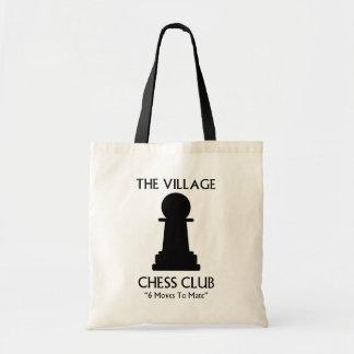 村のチェスクラブ トートバッグ