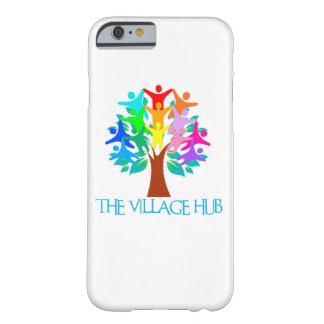 村のハブのiPhoneの例6/6s Barely There iPhone 6 ケース