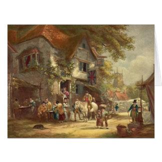 村のフェスティバル1928年 カード
