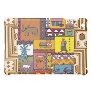 村の人生のアフリカの芸術 iPad MINIカバー