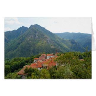 村の眺め カード