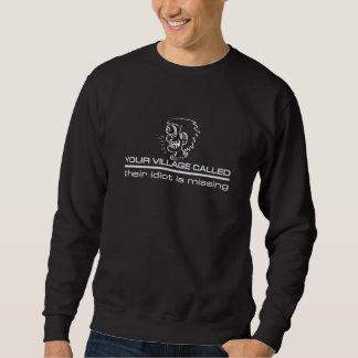 村の馬鹿のワイシャツ-スタイル及び色を選んで下さい スウェットシャツ