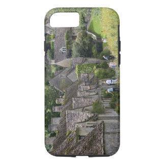 村のCotswoldの石造りのコテッジの iPhone 8/7ケース