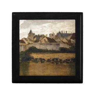 村、チャールズFrancois著Auvers-sur-Oise ギフトボックス