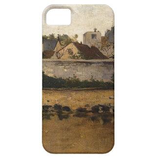 村、チャールズFrancois著Auvers-sur-Oise iPhone SE/5/5s ケース