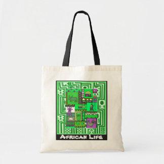 村- Aftricanの芸術 トートバッグ