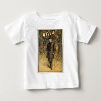杖を持つハリーKellar手品師 ベビーTシャツ