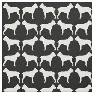 杖Corsoはパターンのシルエットを描きます ファブリック