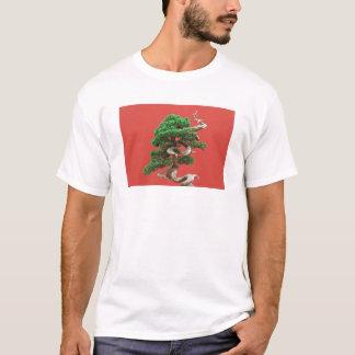 杜松の盆栽 Tシャツ