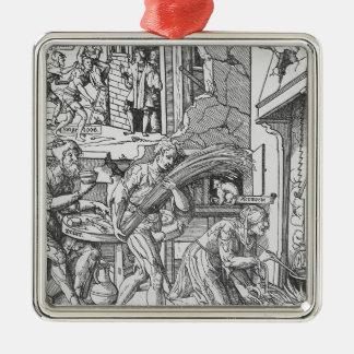 束1541年を運んでいるSorgheloos メタルオーナメント