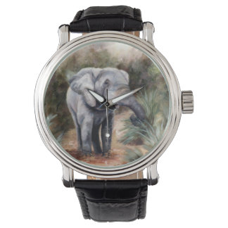 来ている象 腕時計