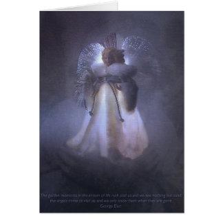来られる天使 グリーティングカード