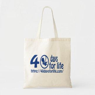 来られる40DAYSFORLIFE.COMは生命を擁護します! トートバッグ